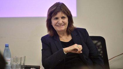 La presidenta del PRO, Patricia Bullruch (Gustavo Gavotti)