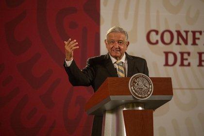 Andres Manuel Lopez Obrador Photographer: Alejandro Cegarra/Bloomberg