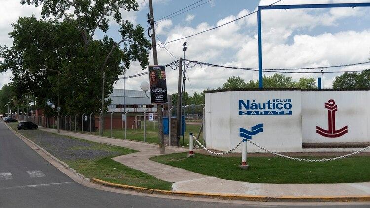 El club Náutico donde Pablo Ventura entrena remo.