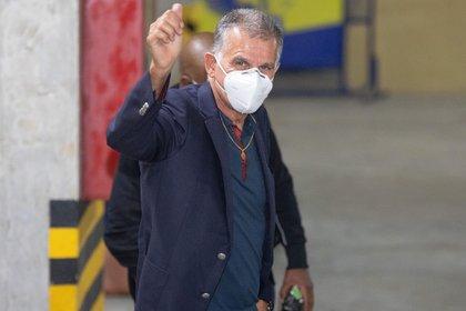El entrenador portugués Carlos Queiroz estuvo en total 662 días a cargo del combinado nacional. (Colombia). EFE/Federación Colombiana de Fútbol