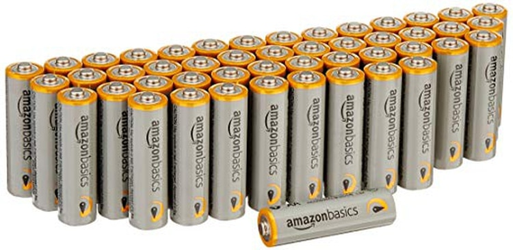 Baterías alcalinas de rendimiento de AmazonBasics