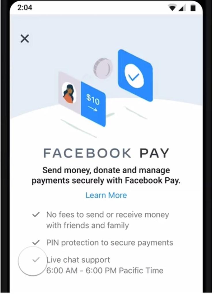 Facebook Pay se podrá configurar dentro de cada una de las plataformas que son parte de Facebook.