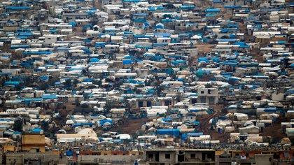 La tensión en Idlib provocó el desplazamiento de cerca de un millón de personas (REUTERS/Umit Bektas)