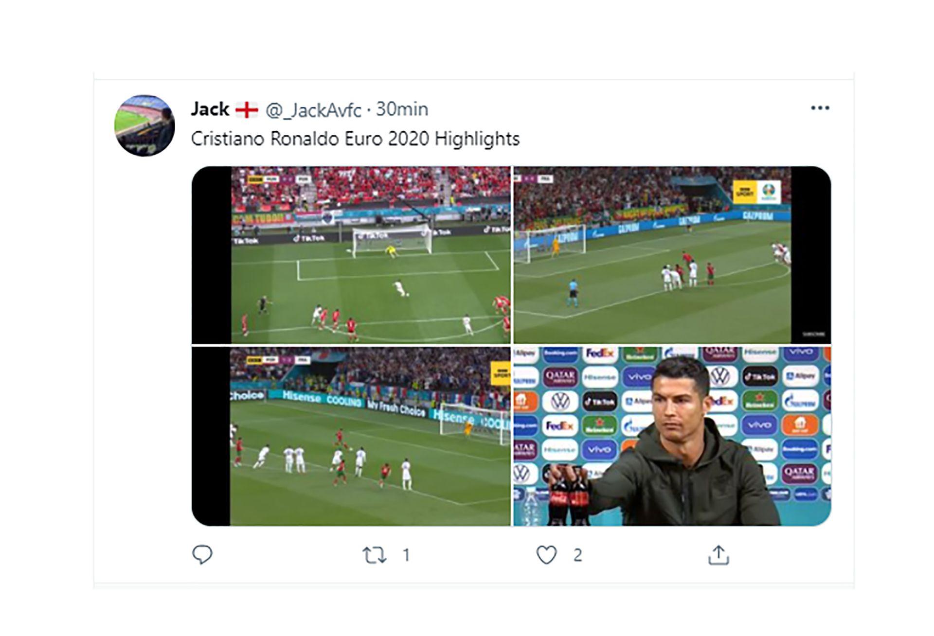 Memes de la eliminación de Cristiano Ronaldo de la euro