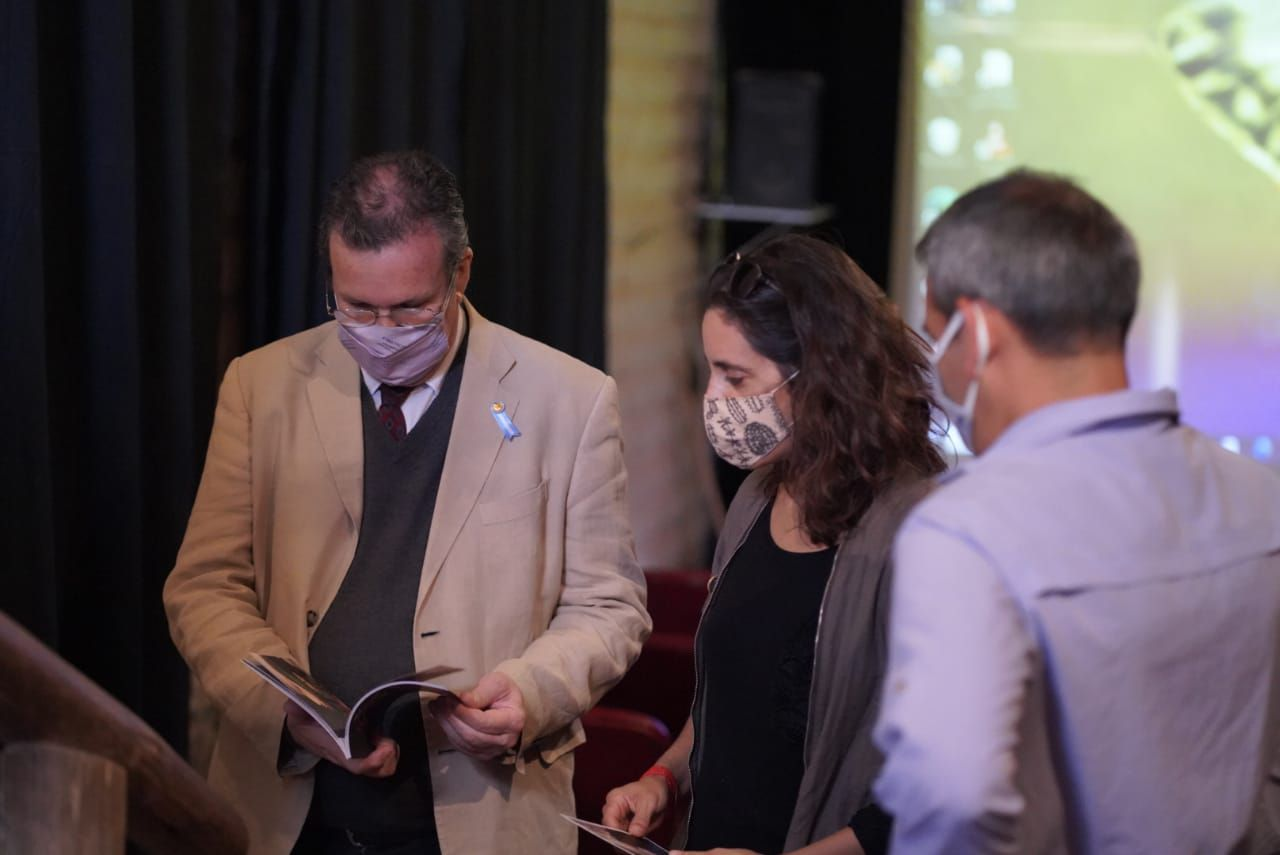 Tristan Bauer en Jujuy inaugura el Museo Nacional Terry