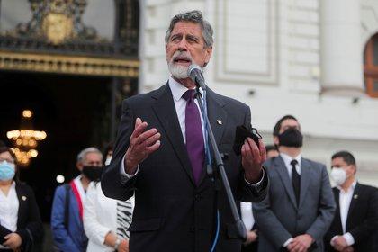 Francisco Sagasti (REUTERS/Sebastian Castaneda)