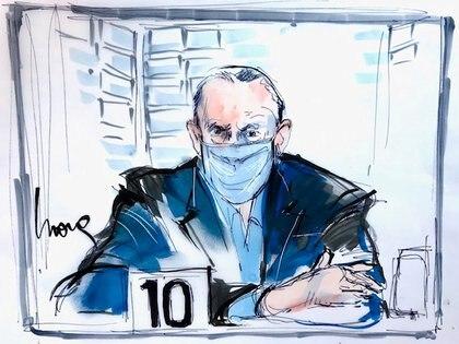 Salvador Cienfuegos durante su primera audiencia en una corte de Estados Unidos (Foto: Mona Edwards vía Reuters)