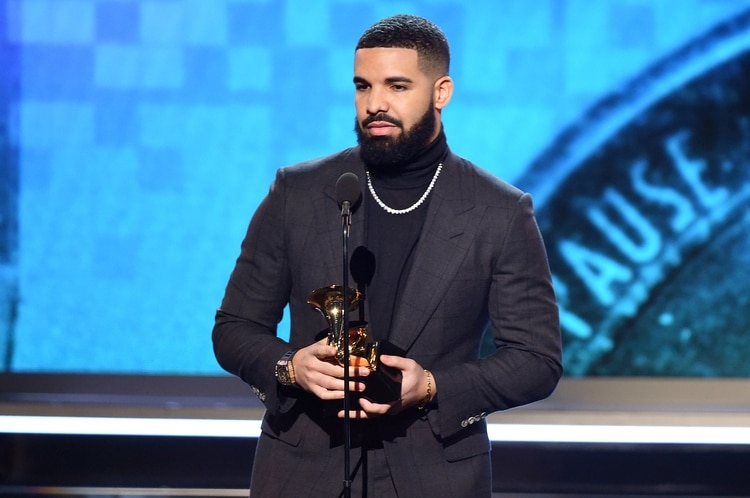 Drake (Kevin Winter/Getty Images para The Recording Academy/AFP)