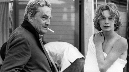 """Imagen de Luchino Visconti y Björn Andrésen que se muestra en """"The Most Beautiful Boy in the World"""", en la selección oficial de cine documental de Sundance (Sundance Institute/ Mario Tursi)"""