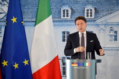 El primer ministro italiano Giuseppe Conte (Tobias Schwarz via REUTERS)