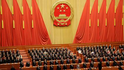 Una reunión de la Asamblea Nacional Popular de China en marzo de 2019 (REUTERS/Thomas Peter)