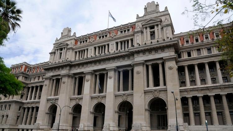 El Palacio de Tribunales