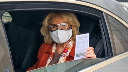 """Mirtha Legrand recibió la vacuna contra el coronavirus: """"Estoy muy  agradecida"""" - Infobae"""