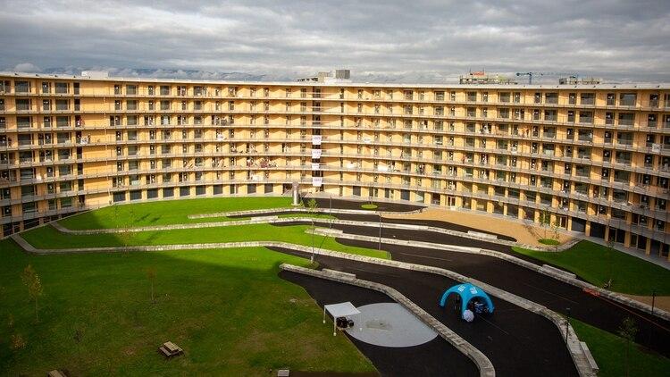 La Villa Olímpica de Lausanne será uno de dos recintos que albergará a los deportistas de más de 70 países (Crédito: Lausanne 2020)
