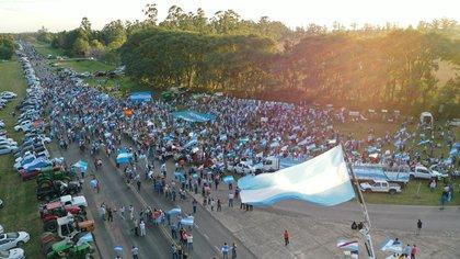 Mobilisations dans tout le pays pour la défense de la propriété privée (Pablo Lupa)