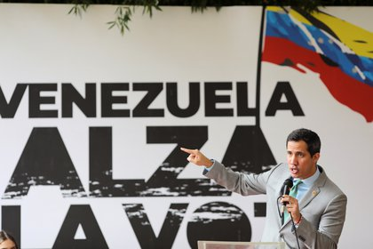 Luis Almagro destacó la lucha de Juan Guaidó por la democracia en Venezuela (REUTERS/Manaure Quintero)