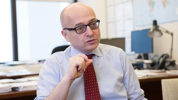 Roberto Cardarelli, uno de los técnicos del FMI