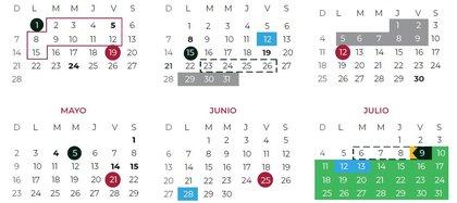 Calendario escolar 2020-2021 regreso a clases mes de febrero a julio(Foto: SEP)