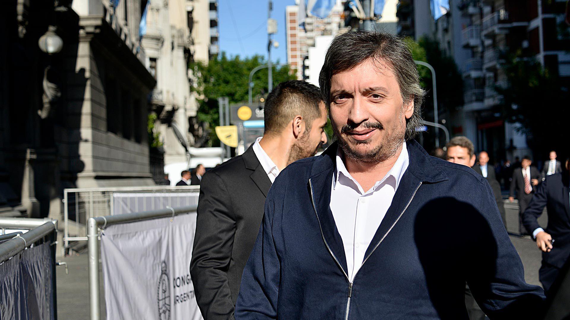 Máximo Kirchner, impulsor del proyecto (Gustavo Gavotti)