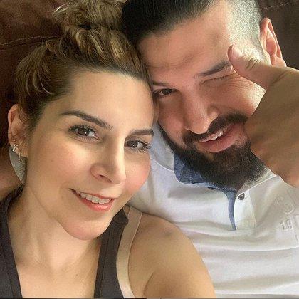 Karla Panini vive ahora con Garza y las hijas que él tuvo con Luna (IG: malinfluencersmx)