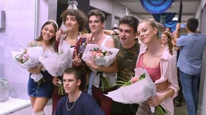 Con un vídeo de despedida, Netflix España dio a conocer que parte del elenco de Élite ya no aparecerá en la cuarta entrega (Foto: captura de pantalla)