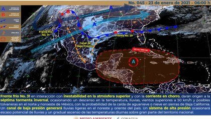Photo: (National Meteorological Service)