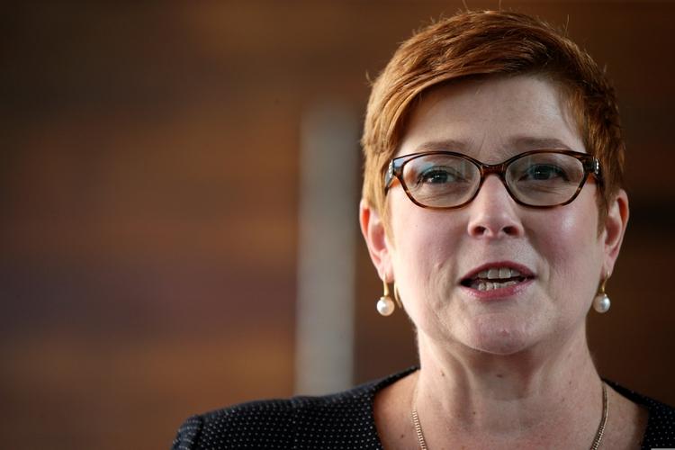 La ministra de Relaciones Exteriores de Australia, Marise Payne