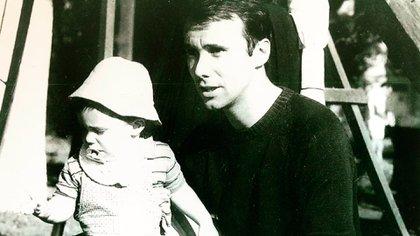Con su hijo Gastón construyo un vínculo paternal pero también laboral.