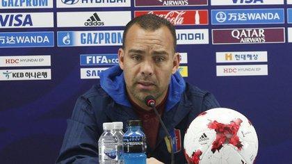 Rafael Dudamel, entrenador de Venezuela (EFE)