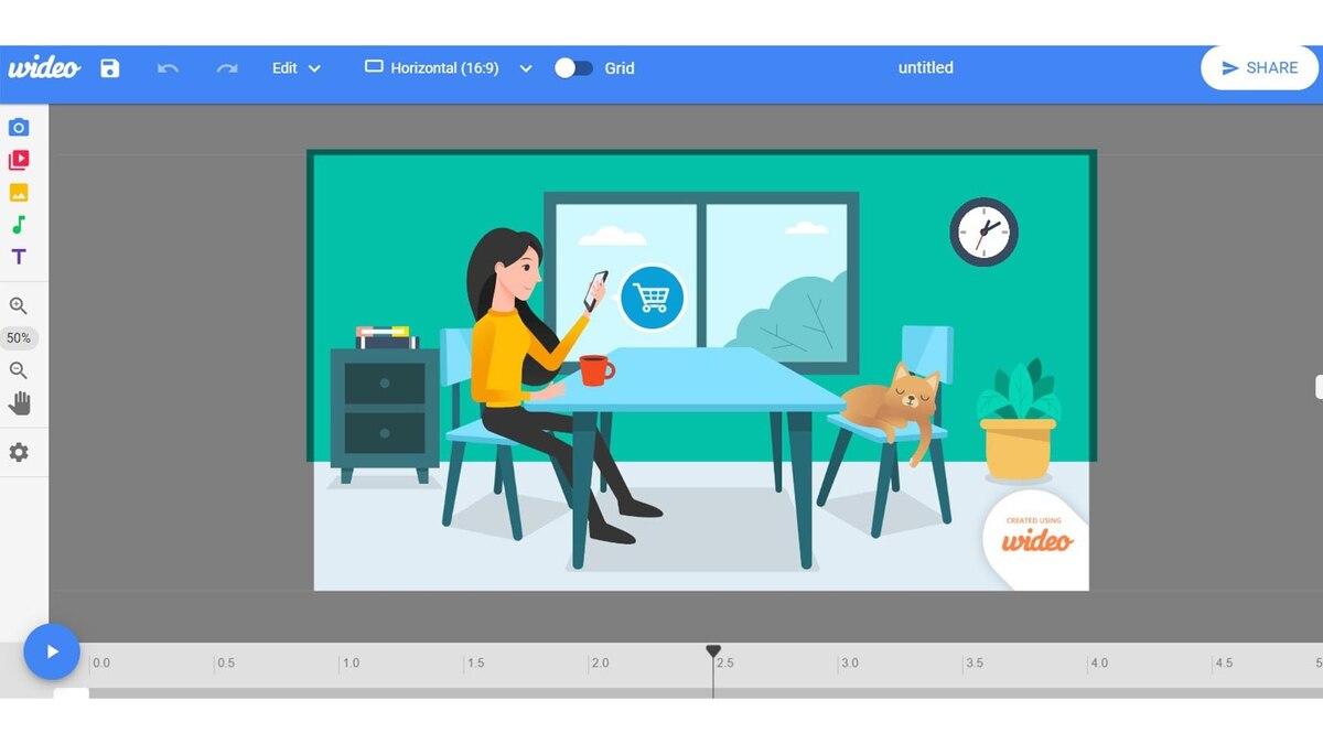 7 programas online para llevar a cabo videos animados