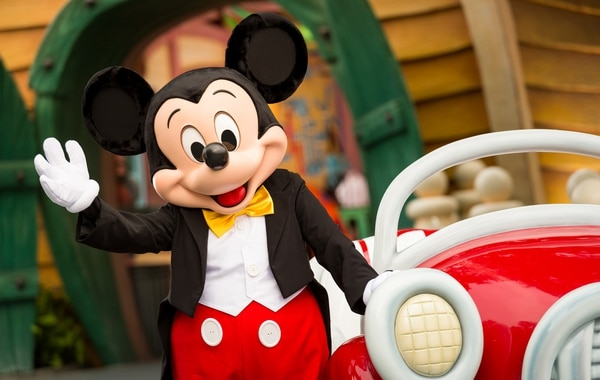 Mickey en Walt Disney World