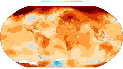El calor en el planeta Tierra en 2019