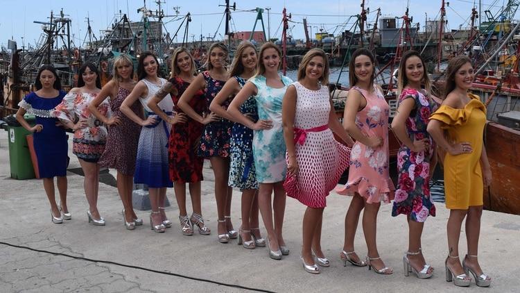 Desde 2015 la Fiesta Nacional de los Pescadores busca elegir reinas cada vez más reales