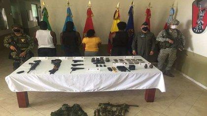Seis integrantes del ELN se desmovilizaron en Chocó