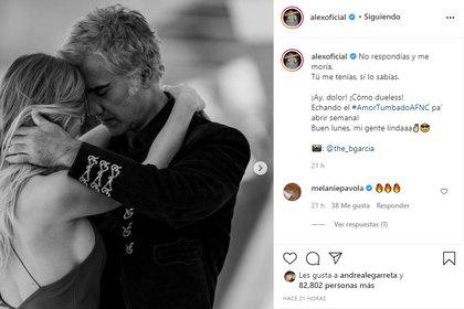 A gran parte de sus fans no les gustó su nueva colaboración Amor tumbado (Foto: @alexoficial/Instagram)