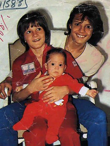Sergio nació cuando la carrera de Luis Miguel explotaba (Gentileza de la revista Quién)