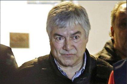 Lázaro Báez durante el juicio en 2018