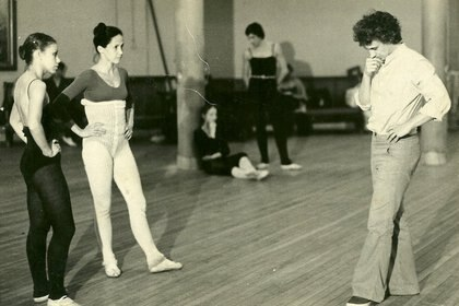 Oscar Araiz, maestro de danza (Facebook de Oscar Araiz)