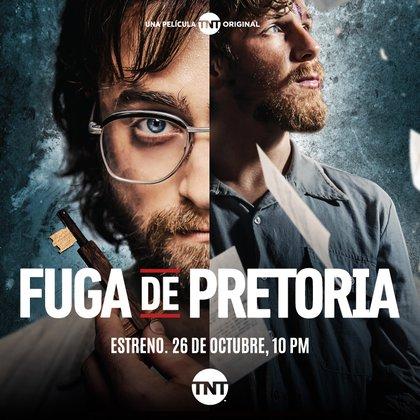 Fuga de Pretoria será estrenada este 26 octubre en exclusiva por TNT (Foto: Cortesía)