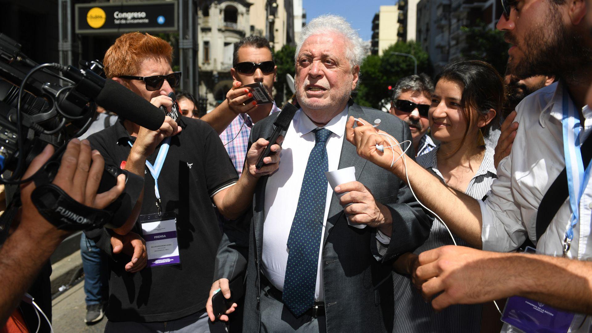 El ministro de Salud Ginés González García (Maximiliano Luna)