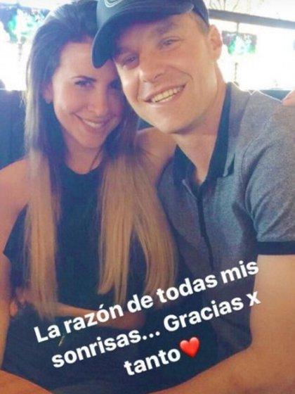 Daniela Katz también utilizó las redes sociales para enviarle un romántico mensaje al futbolista de Rosario Central (@danikatz_ok)