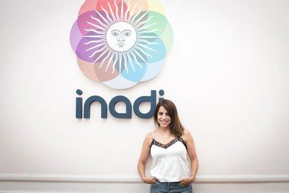 Donda es la titular del INADI desde diciembre del 2019