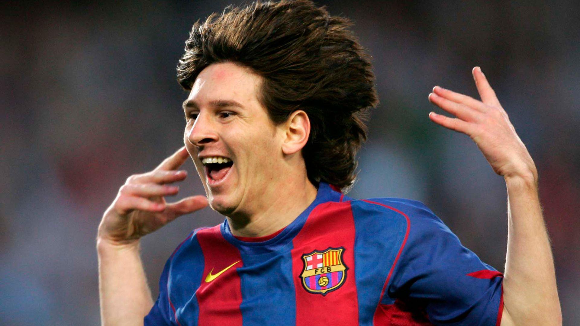 Lionel Messi 2005 albacete
