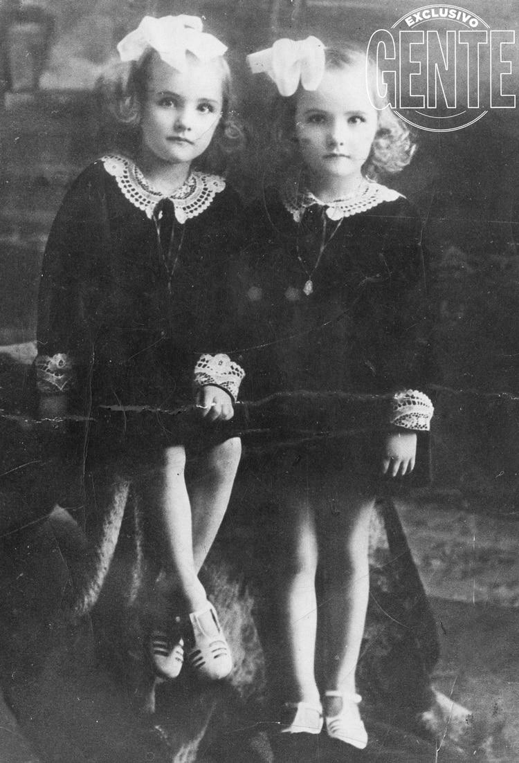 Las gemelas más famosas de la Argentina: las Legrand - Infobae
