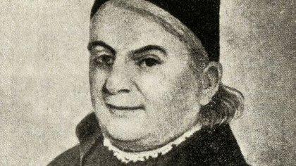 El cura Saturnino Segurola, precursor de la vacunación en Buenos Aires. Durante muchos años vacunaba todos los jueves en la quinta que su hermano tenía en el actual barrio de Caballito.