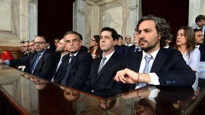 En la Casa Rosada hay dos sectores bien diferenciados (Presidencia)