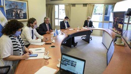 En la videoconferencia que convocó Alberto Fernández con los gobernadores hubo pedidos para que cada provincia decida las medidas en su jurisdicción