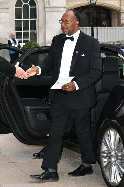 Charlot Salwai, ex Primer Ministro de Vanuatu, en el banquete del Foro Empresarial del Commonwealth de la ciudad de Londres, el 17 de abril de 2018 (Foto de Nils Jorgensen/Shutterstock)