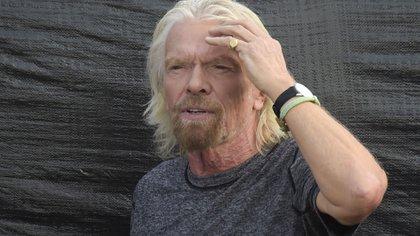 Richard Branson (Photo by Raul Arboleda / AFP)