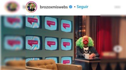 Brozo y José Ramón Fernández hablaron a Tenebrozo para América que hablemos de los cachirules (Foto: @brozoxmiswebs Instagram)